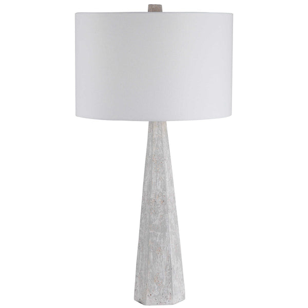Tapered Concrete Table Lamp