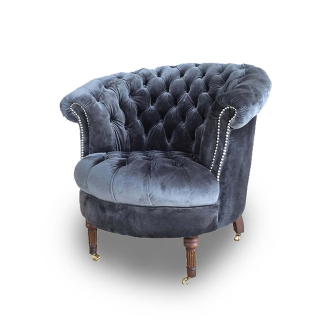 Charcoal Chair, Home Furnishings, Laura of Pembroke
