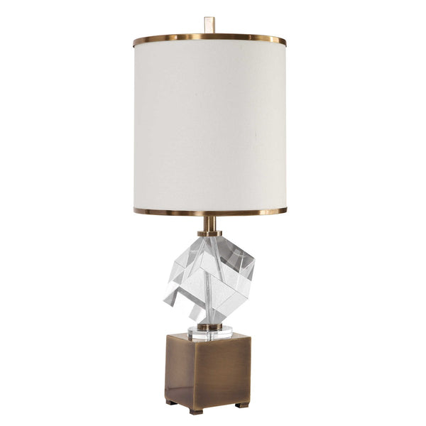 Accent Lamp With Crystal