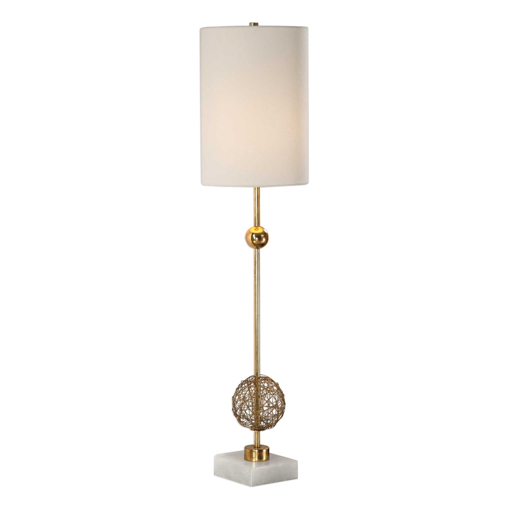 Brass Wire Buffet Lamp, Home Accessories, Laura of Pembroke