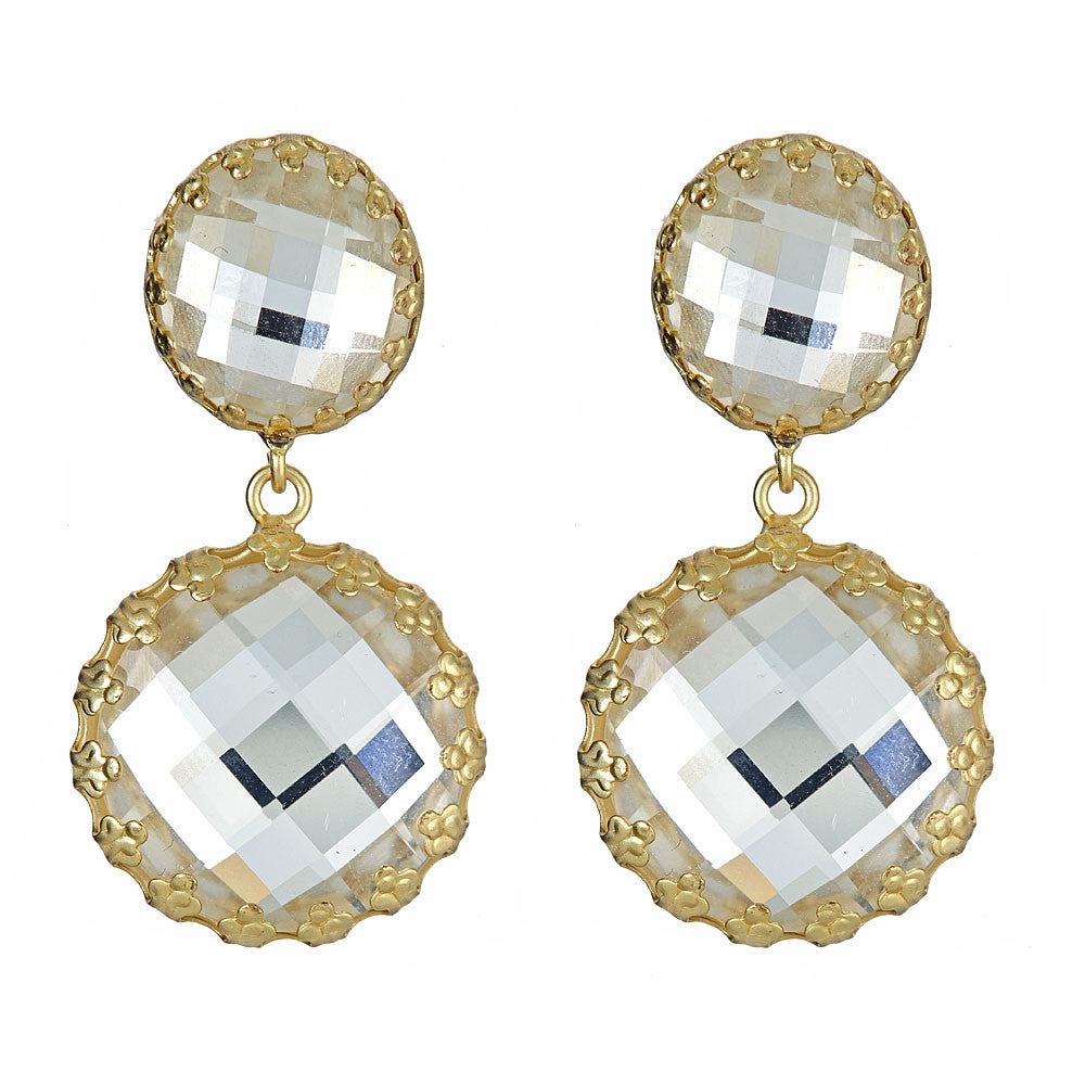 Clear Pippa Earrings