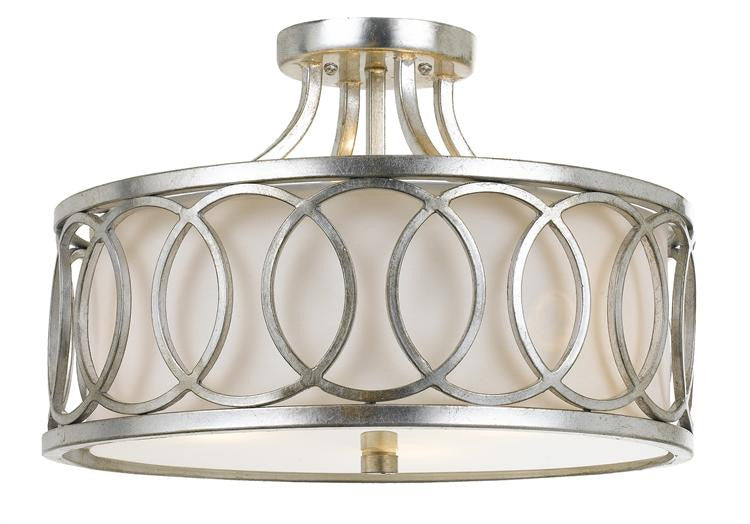 Antique Silver Ceiling Mount, Lighting, Laura of Pembroke