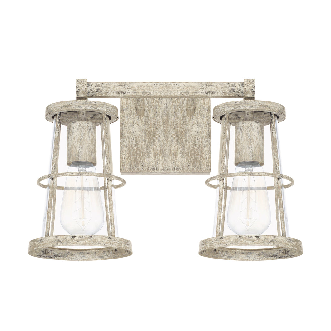 Beaufort Mystic Sand 2 Light Vanity, Lighting, Laura of Pembroke