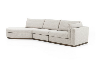 3 Piece Sectional-Left Arm