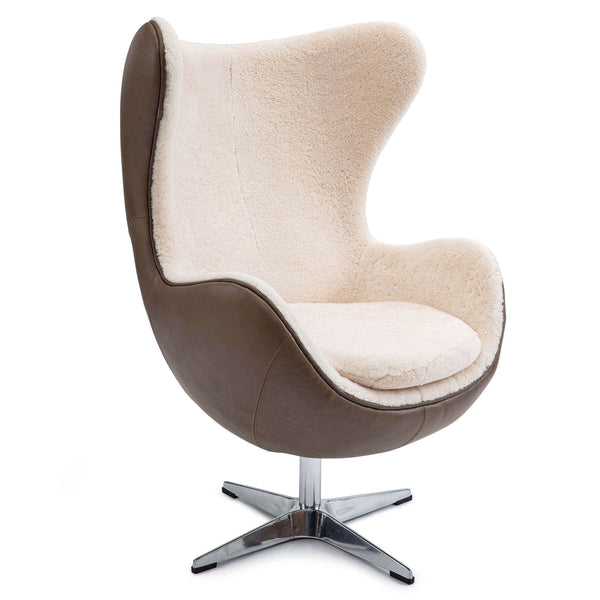 Sheepskin Egg Chair