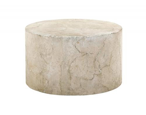 Crushed Limestone and Concrete Cocktail Table, Home Furnishings, Laura of Pembroke