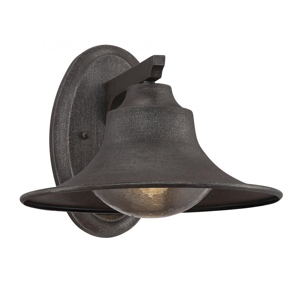 Rust Bell Shade Outdoor Lantern, Lighting, Laura of Pembroke
