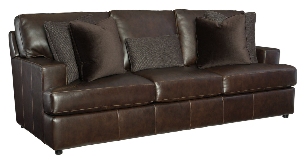 Leather Sofa, Home Furnishings, Laura of Pembroke