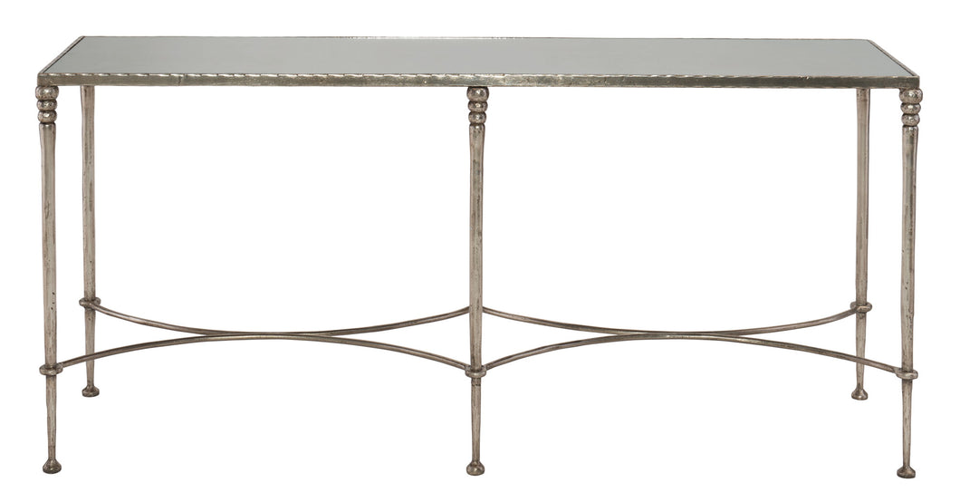 Mirror Top Rectangular Console Table, Home Furnishings, Laura of Pembroke