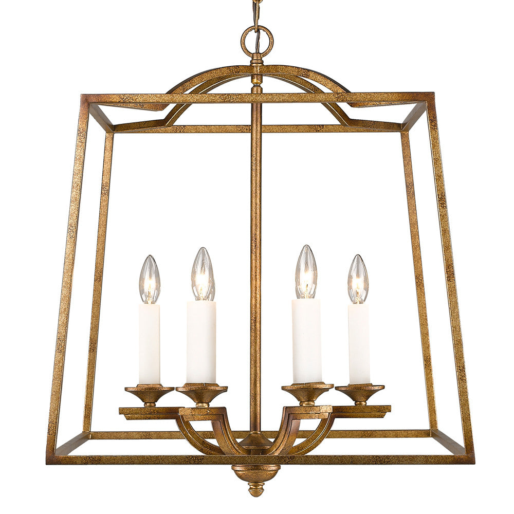 Grecian Gold 6 Light Pendant, Lighting, Laura of Pembroke