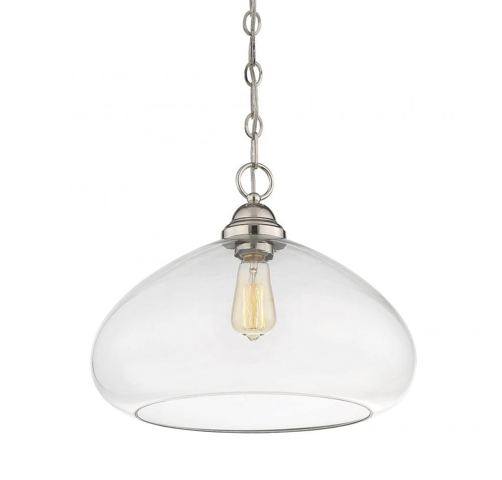 Wide Bubble Glass Pendant, Lighting, Laura of Pembroke