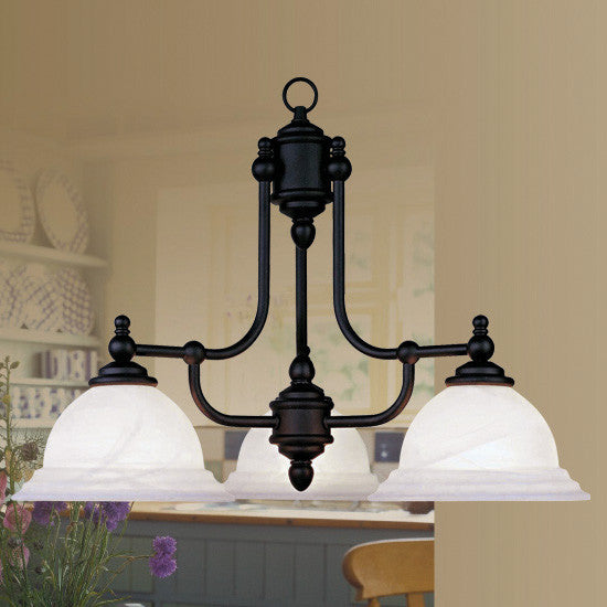 Black Finish Chandelier