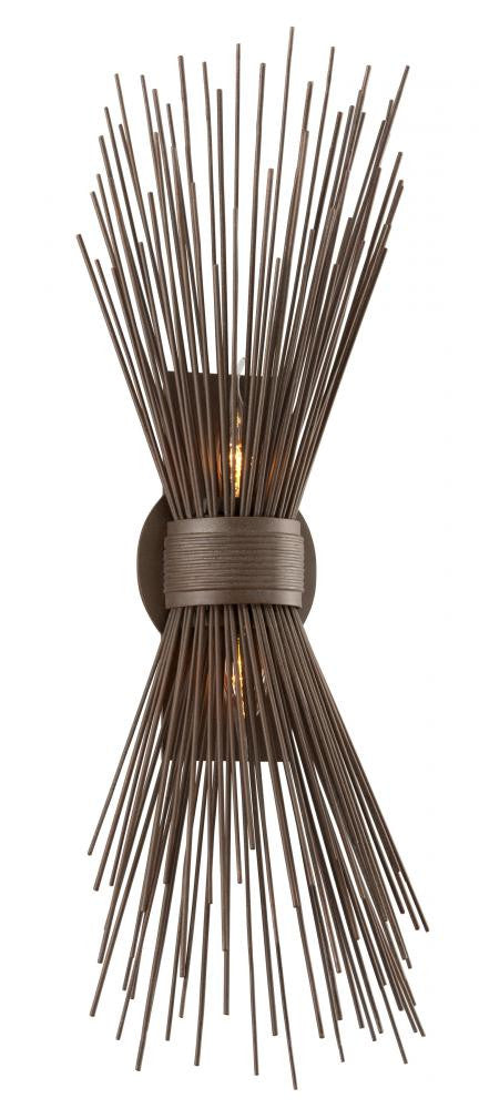 Contemporary Bronze Wall Sconce, Lighting, Laura of Pembroke