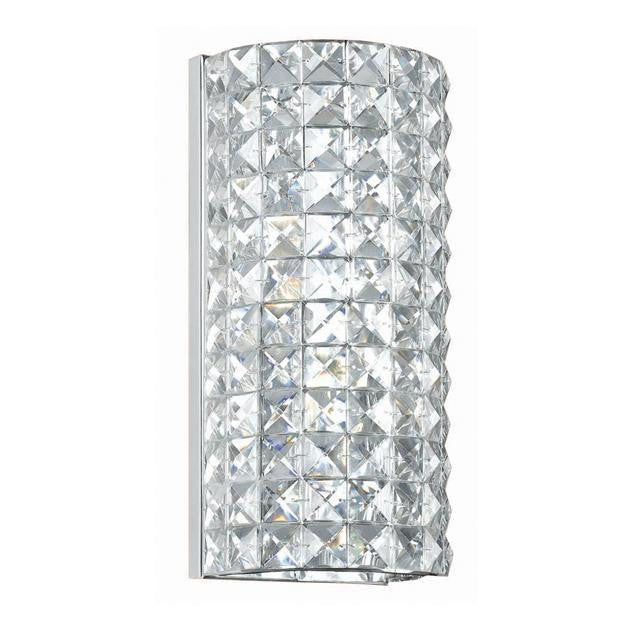 2 Light Chrome Sconce Lighting Laura of Pembroke - Laura of Pembroke Canton Ohio Boutique