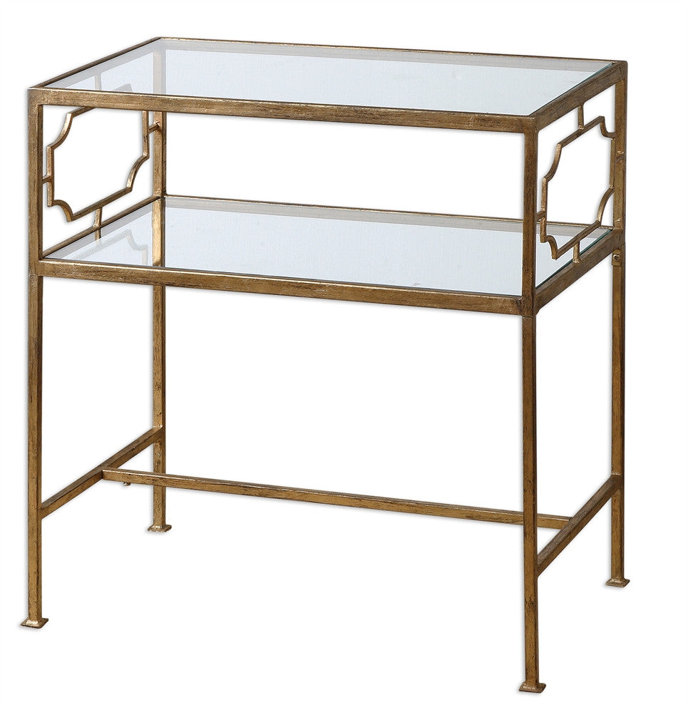 Gold Side Table, Home Furnishings, Laura of Pembroke