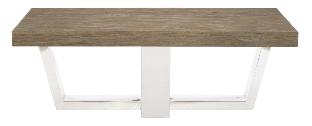 Wood Top Rectangular Cocktail Table, Home Furnishings, Laura of Pembroke