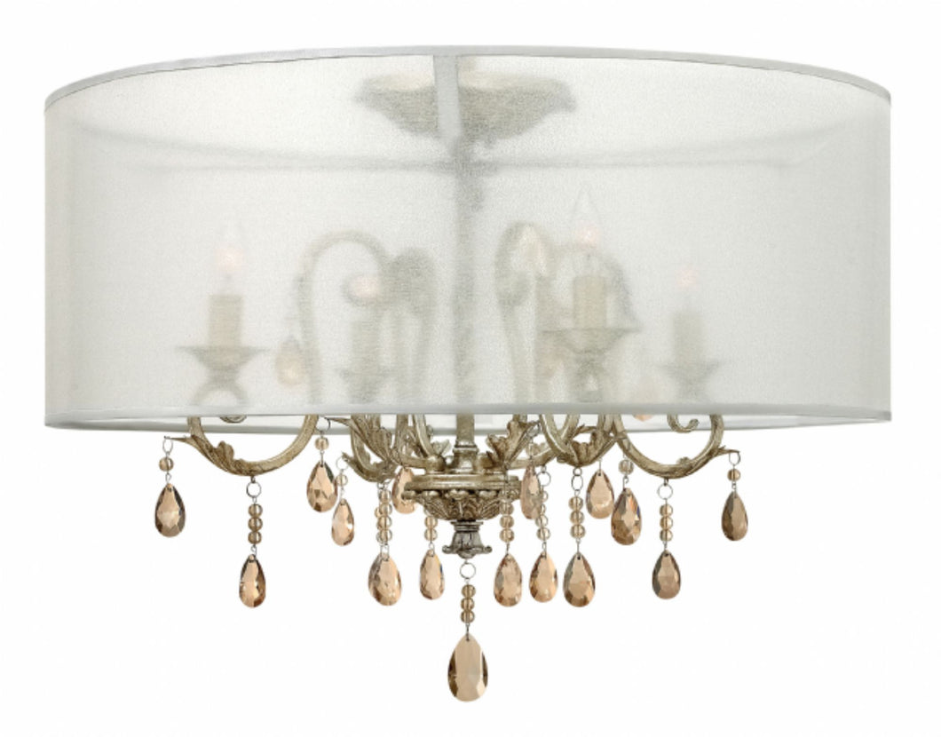 Chandelier with Shade, Lighting, Laura of Pembroke