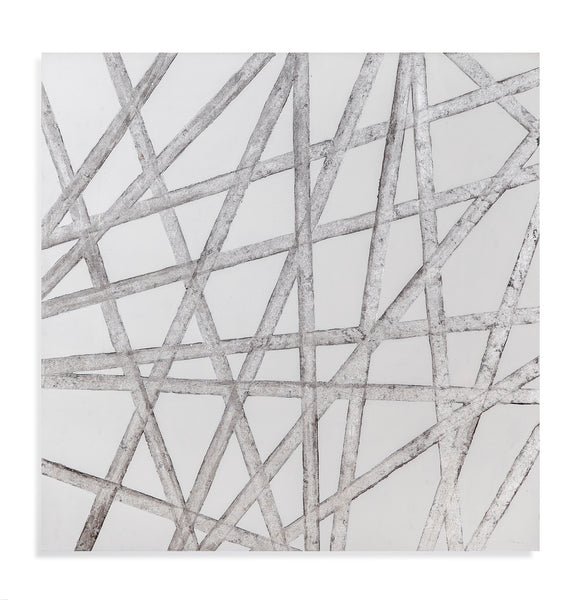 48x48 Radiant Silver Art, Home Accessories, Laura of Pembroke