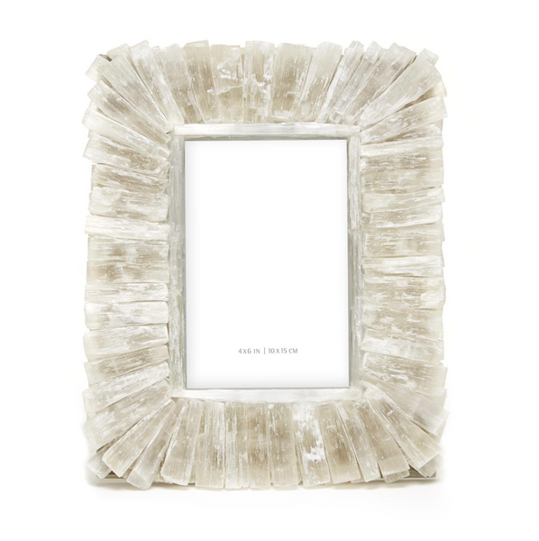 4X6 Selenite Photo Frame