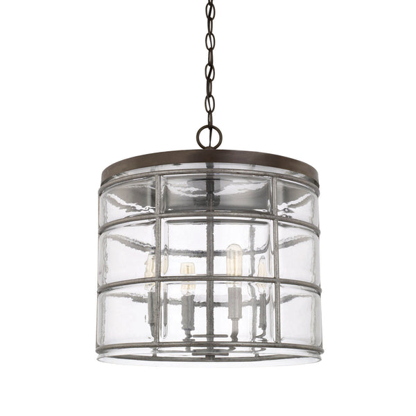 Colby Urban Grey 4 Light Pendant