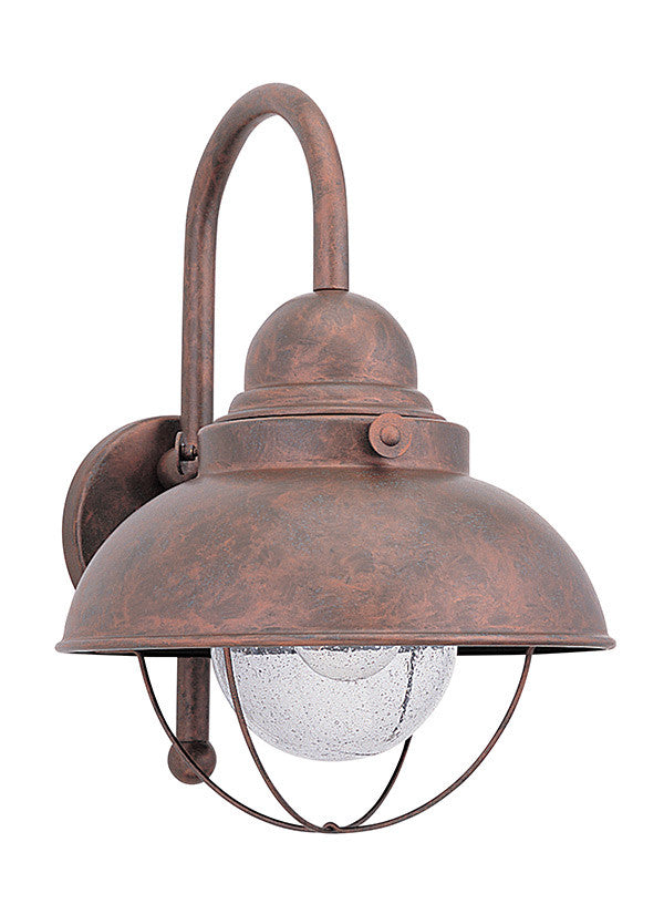Nautical Outdoor 1 Light Large Wall Lantern
