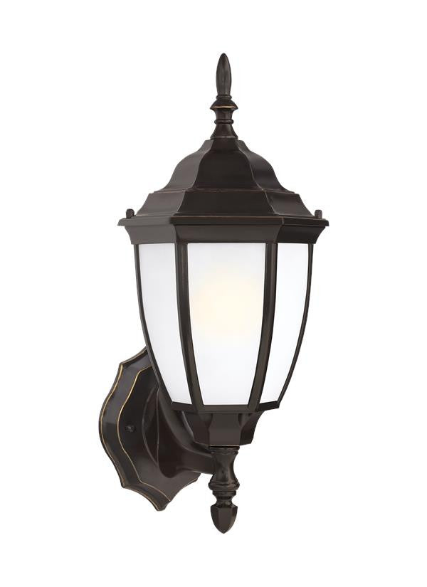 Bronze Traditional Outdoor 1 Light Wall Lantern