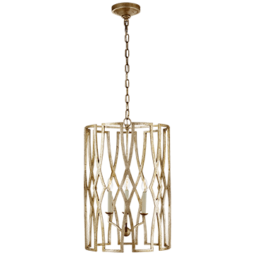 Star Canopy Medium Lantern in Venetian Gold, Lighting, Laura of Pembroke