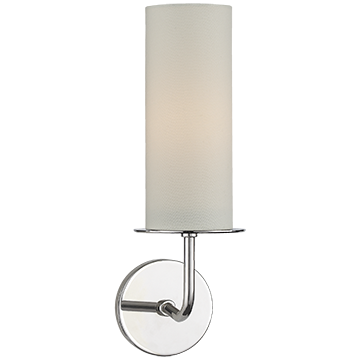 Kate Spade Hanging Shade Single Sconce in Polished Nickel