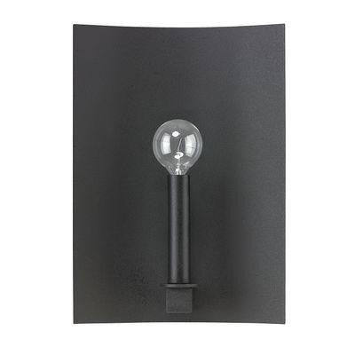 1 Light Sconce in Black Iron