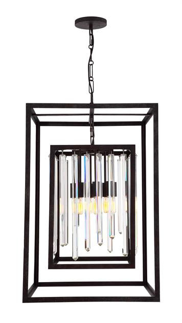Drop Crystal 8 Light Chandelier