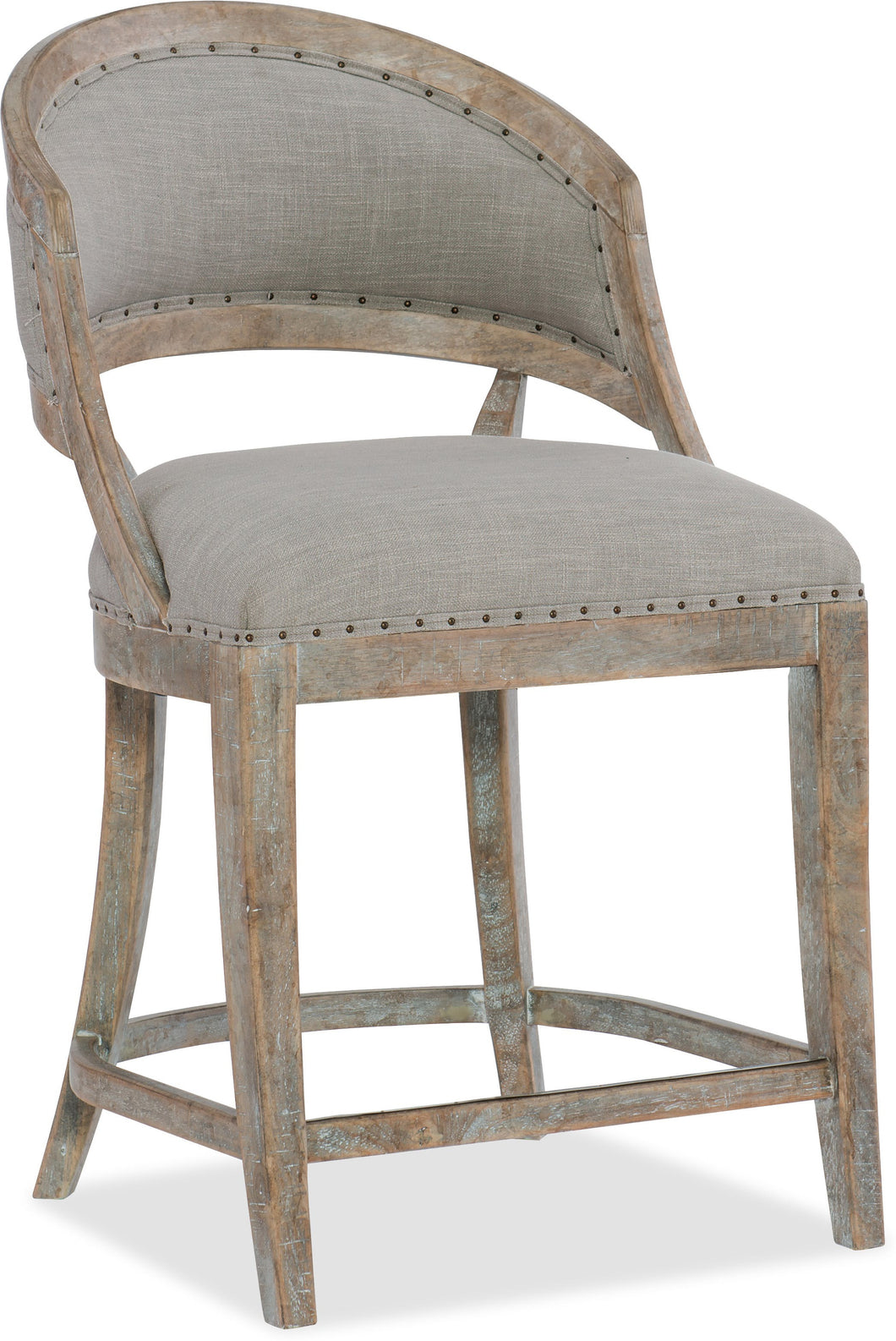 Barrel Back Counter Stool, Home Furnishings, Laura of Pembroke