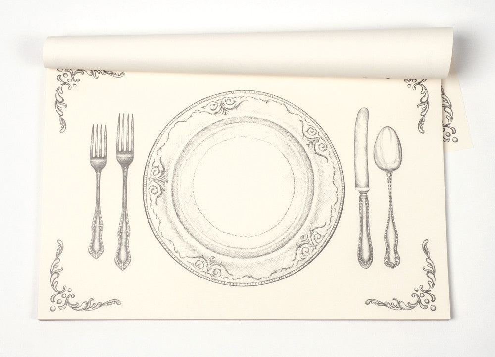 Perfect Setting Placemats, Gifts, Kitchen Papers, Laura of Pembroke