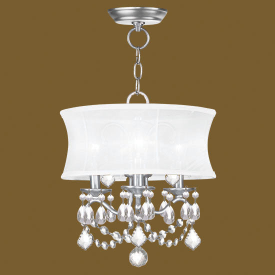Mini Chandelier with Shade, Lighting, Laura of Pembroke