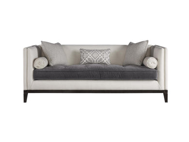 Button Tufted Seat Cushion Sofa, Home Furnishings, Laura of Pembroke