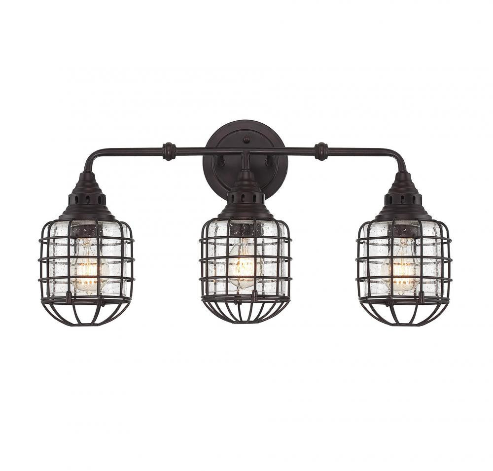 Cage 3 Light Sconce