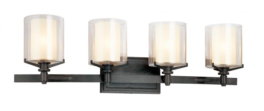 French Iron 4 Light Wall Light, Lighting, Laura of Pembroke