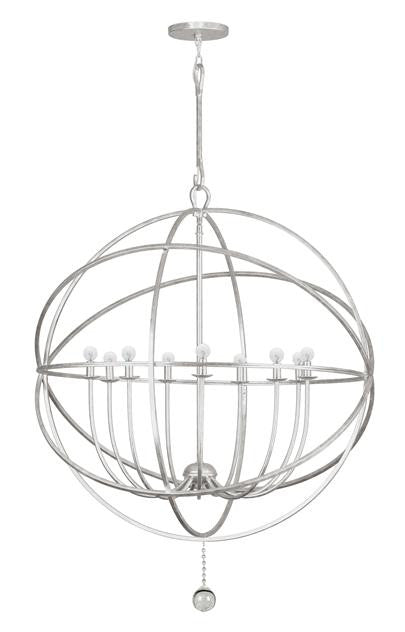 9 Light Sphere Chandelier, Lighting, Laura of Pembroke