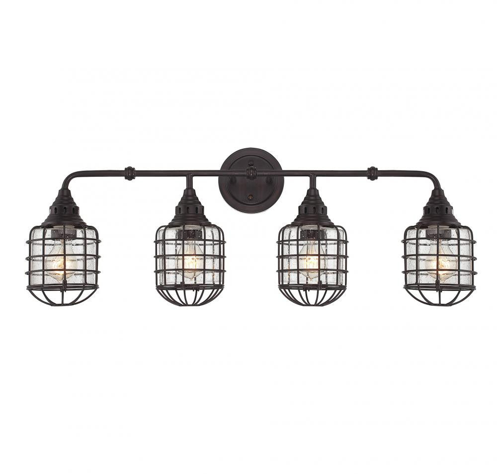 Cage 4 Light Sconce, Lighting, Laura of Pembroke