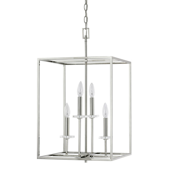 4 Light Foyer Fixture