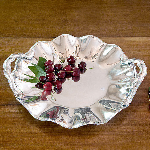 Pearl Denisse Round Platter with Handles, Gifts, Beatriz Ball, Laura of Pembroke