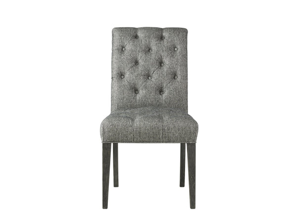 Button-Tufted Side Chair