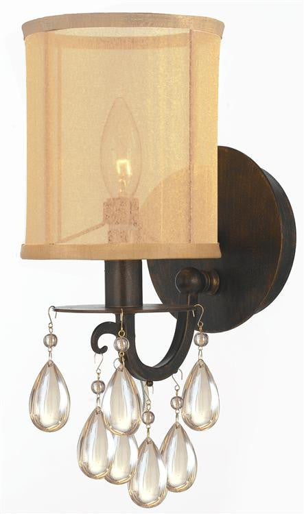 Bronze 1 Light Sconce