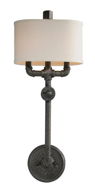 Industrial 2 Light Wall Sconce
