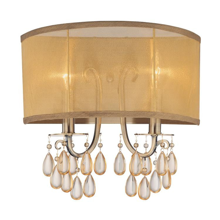 Brass 2 Light Sconce
