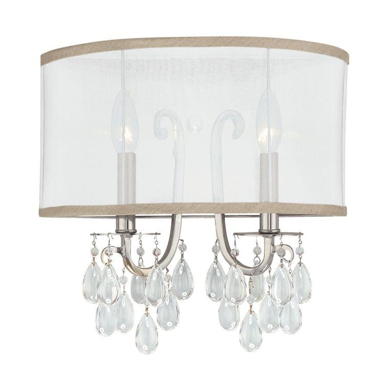 Chrome 2 Light Sconce, Lighting, Laura of Pembroke
