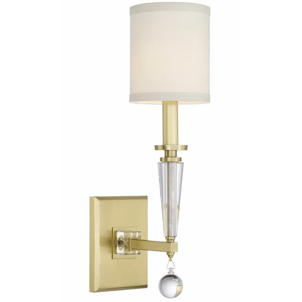 Paxton 1 Light Antique Gold Sconce