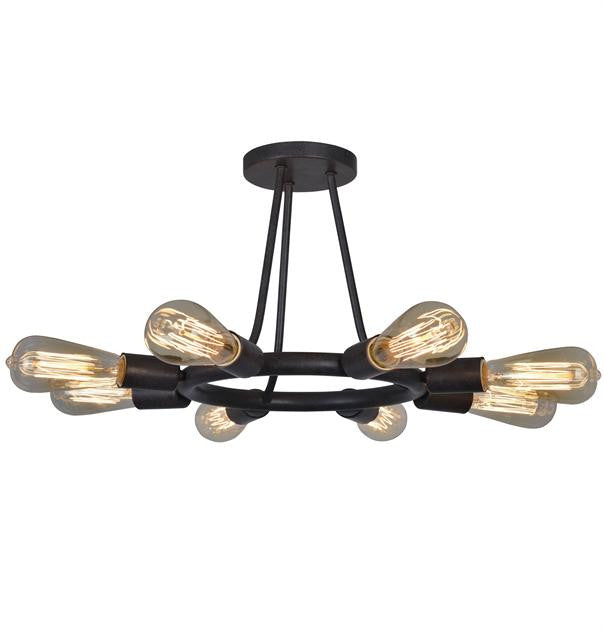 Bronze 8 Light Ceiling Mount, Lighting, Laura of Pembroke