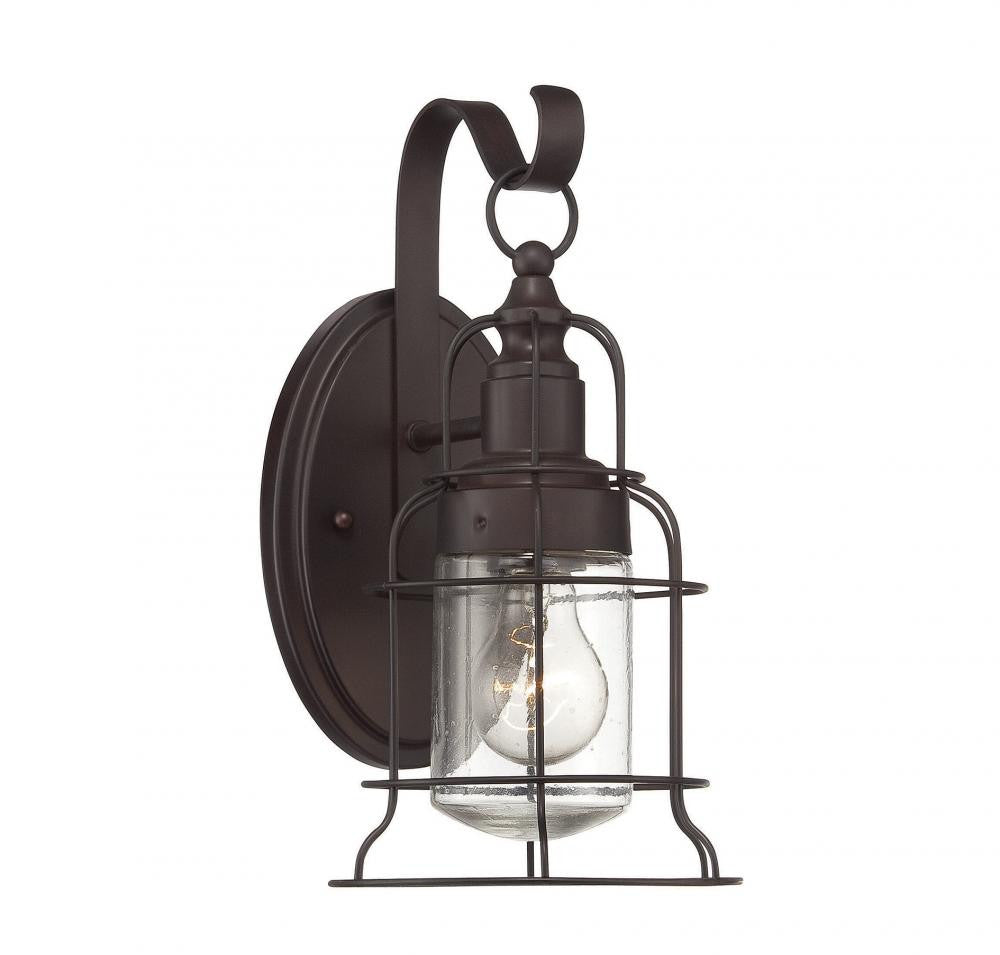 English Bronze Cage Wall Lantern, Lighting, Laura of Pembroke