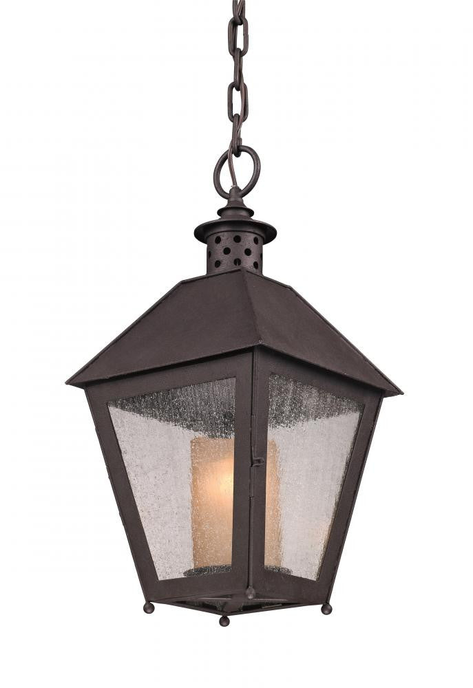 Centennial Rust Outdoor Hanging Lantern, Lighting, Laura of Pembroke