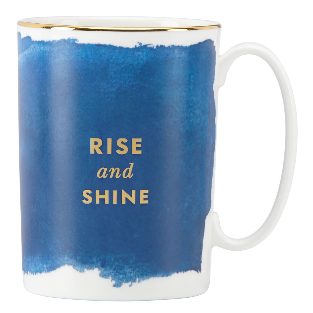 Posy Court Blue Mug